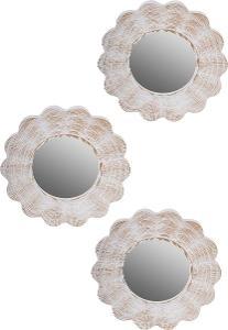 Nástěnné zrcadlo 3ks (89496039) I579