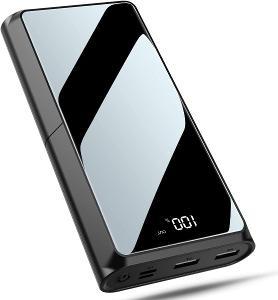 Powerbanka Bewahly 20000mAh - LCD, USB C Power Bank 20000mAh, PD 18W