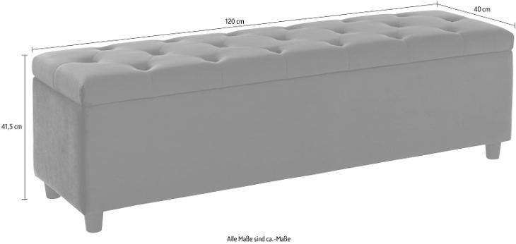 Čalouněná lavice Relaxy 120 cm (98531609) _D271 - Nábytek