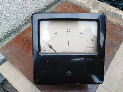 METRA BLANSKO - meřicí přístroj 4096322 teploměr?