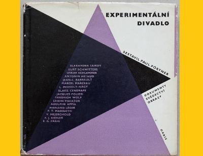 EXPERIMENTÁLNÍ DIVADLO - dokumenty, svědectví, obrazy