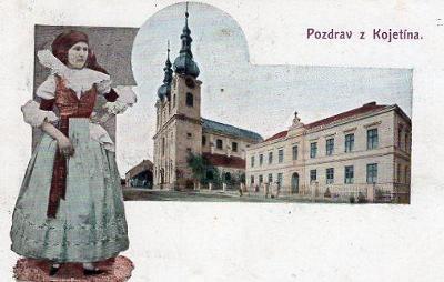 KOJETÍN VYD. J. SLOVÁK KROMĚŘÍŽ KROJ 1906