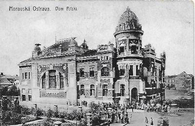 Moravská Ostrava Polský dům