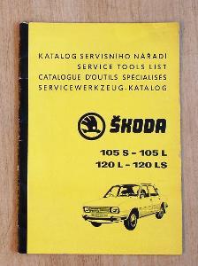 Katalog servisního nářadí, Škoda 105 120. (1)