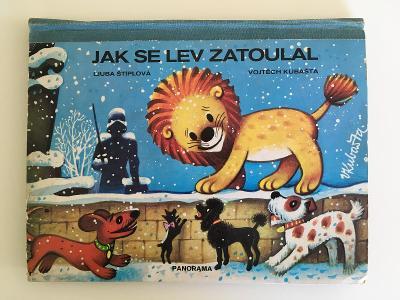 Leporelo Jak se lev zatoulal (Kubašta / Štíplová) 1971