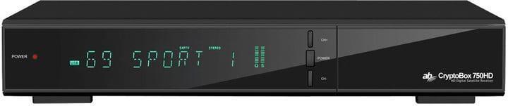 AB Cryptobox 750HD Satelitní tuner - 100% STAV !!!