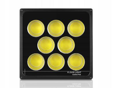 Halogenový LED reflektor Slim 400 W COB CERTIFIKÁT