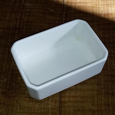 Porcelánová miska na mýdlo RAK  PORCELAIN (U.A.E) 11x7,5x4 cm