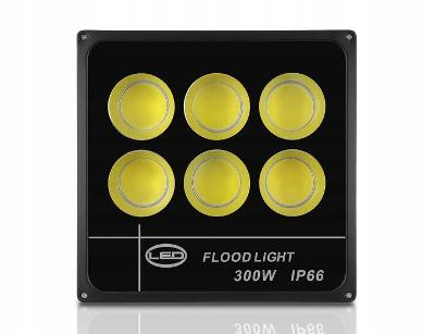 Halogenový LED reflektor Slim 300 W COB CERTIFIKÁT