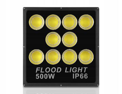 Halogenový LED reflektor Slim 500 W COB CERTIFIKÁT