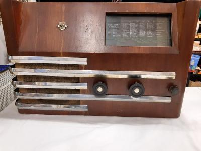 Rádio Empo Superhet Admiral funkční v krásném stavu .Rarita !!!