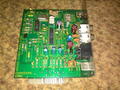Commodore Amiga 2000: A2000 video modulator