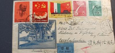 Celistvost obálka Čína - ČSSR