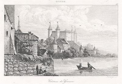 Grandson, Le Bas, oceloryt 1842