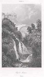 PONT DE MONTREN, VAUD, Le Bas, oceloryt 1842