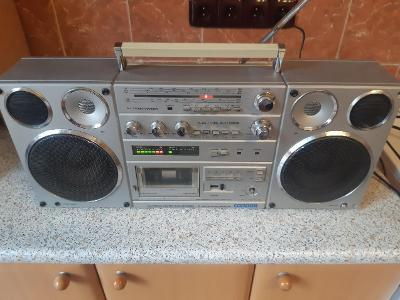 Radio magnetofon Tesla Condor, FUNKČNÍ. RARE!!