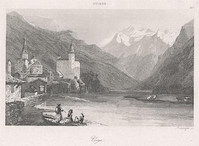 Viege, Le Bas, oceloryt 1842