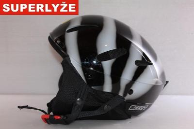 Lyžařská helma Scott Zebra 62