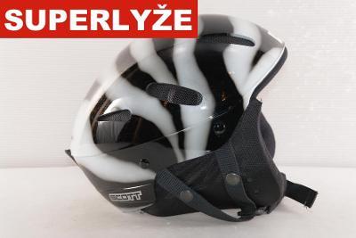 Lyžařská helma Scott Zebra 60