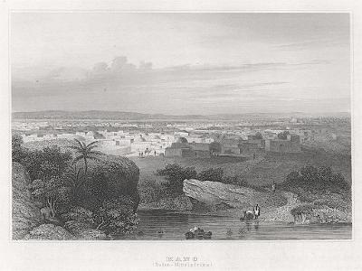 Kano Nigerie, Meyer, oceloryt, 1850