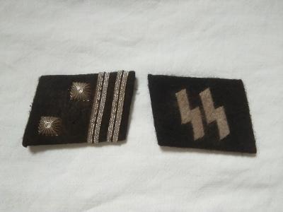 Nemecke patky Sturmscharfuhrer  SS III Rise