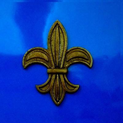 Plaketa , znak,medaile - Francouzská Heraldická LiLie 100x 80 mm