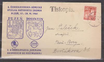 Plzeň - 2.Československo - Německá výstava - tiskopis