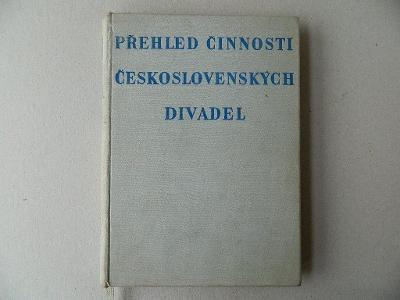 Přehled činnosti československých divadel 1958
