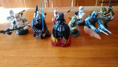 Sběratelské bysty Star Wars
