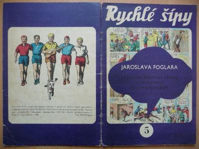 Časopis - Rychlé šípy - ročník I. - číslo 5. - z roku 1969