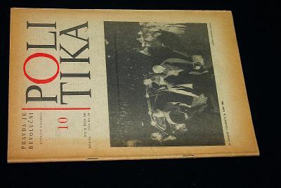 Politika  10/1968    (l28)