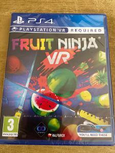 PS4 Fruit Ninnja (VR) (nová)
