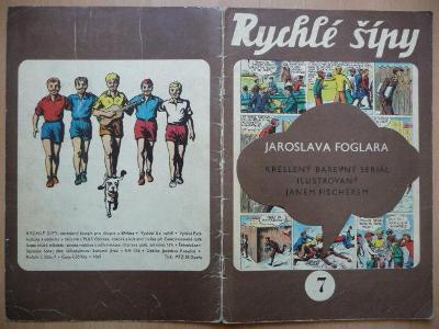 Časopis - Rychlé šípy - ročník I. - číslo 7. - z roku 1969