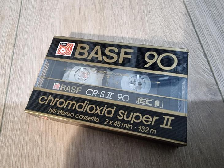 BASF CHROMDIOXID SUPER II 90 - TV, audio, video