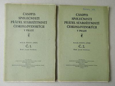 Časopis společnosti přátel starožitností českých - 36. ročník/1928