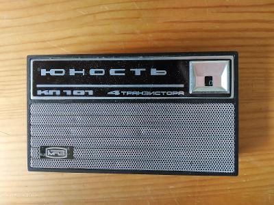 Staré tranzistorové rádio