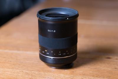 Samyang XP Premium MF 50mm F1,2 pro Canon EF