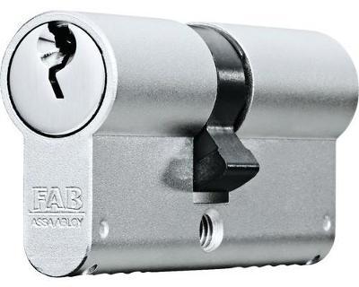 bezpečnostní cylindrická vložka FAB 1000U4BDNs/45+45, 5 klíčů, nová