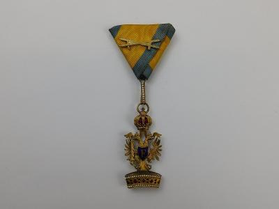 R-U řád Železné koruny - varianta rytíř, bronz