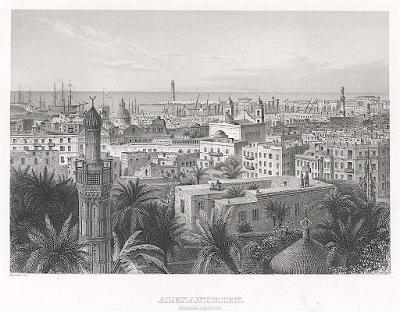 Alexandria II., Meyer, oceloryt, 1850