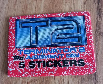 Balíček samolepek  1991 Terminátor  2