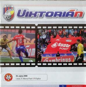 fotbalový program Viktoria Plzeň - FK Teplice (2008)