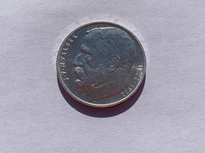 Stříbrná mince 50 Kčs Josef Václav Myslbek 50. výročí úmrtí 1972