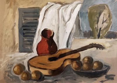 Zátiší s kytarou - Oto Janeček