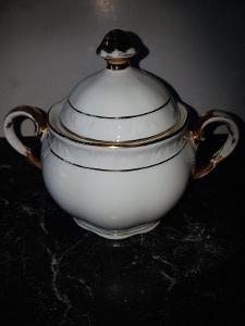 cukřenka porcelánová bez označení