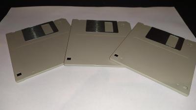"""Diskety 1.44MB / 3,5"""" / nové / nepoužité"""