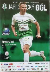 fotbalový program FK Jablonec - Slovan Liberec (2015)