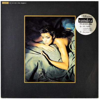 Gramofonová deska SANDRA - Ten on one (The singles) (+ poster)