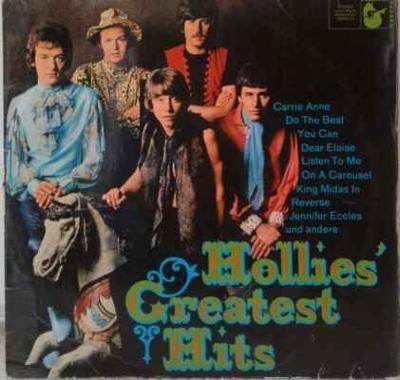 LP The Hollies - Hollies' Greatest Hits, 1968