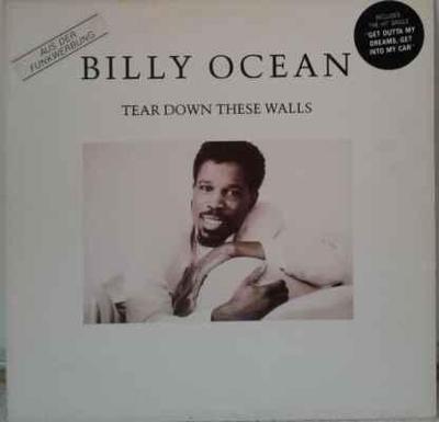 LP Billy Ocean - Tear Down These Walls, 1988 EX